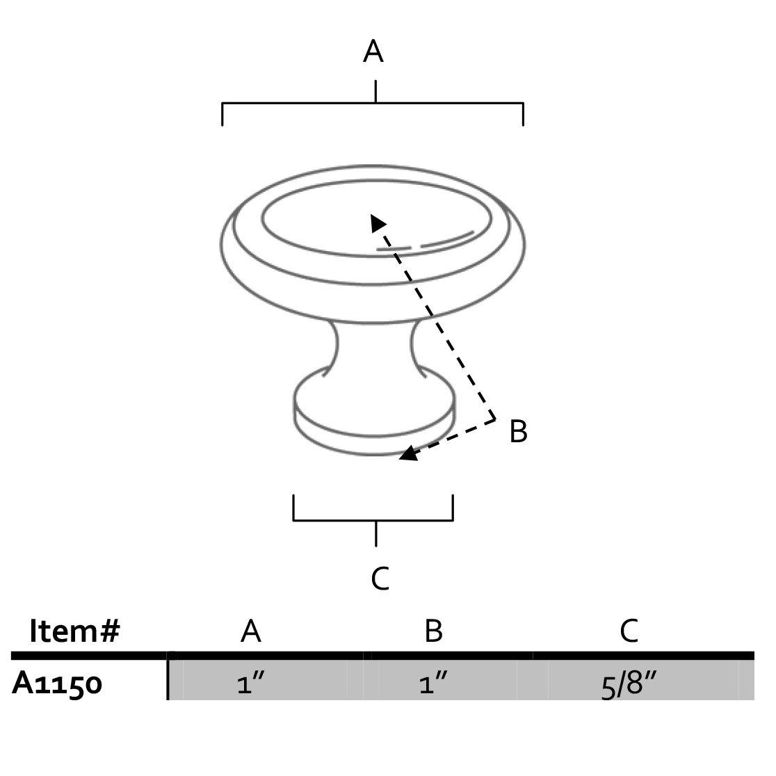 Alno Creations Shop: A1150-AEM