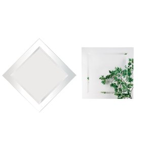 "Alno Inc. Creations - Mirror - 28"" x 28"" Square Mirror"