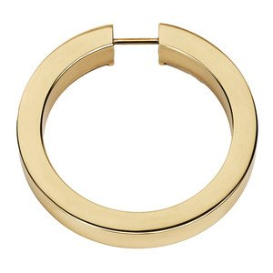 "Alno Inc. Creations - Convertibles Ring Pulls - 3 1/2"" Round Ring in Polished Brass"