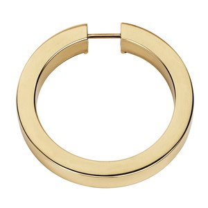 "Alno Inc. Creations - Convertibles Ring Pulls - 3"" Round Ring in Polished Brass"