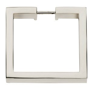 "Alno Inc. Creations - Convertibles Ring Pulls - 2"" Square Ring in Polished Brass"