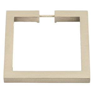 "Alno Inc. Creations - Convertibles Ring Pulls - 3 1/2"" Square Ring in Polished Brass"