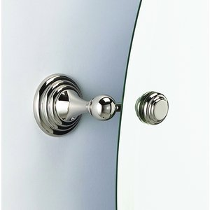 Alno Bath Accessories - Embassy - Adjustable Mirror Brackets (Mirror Sold Separately) in Polished Nickel