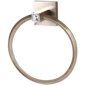 Alno Creations Shop C8440 Sn Towel Ring Satin Nickel Alno Creations Bathroom Accessories