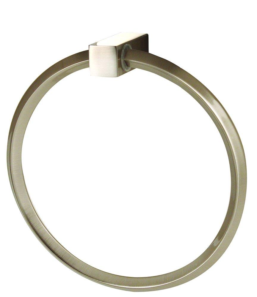 Alno Creations Shop A7140 Sn Towel Ring Satin Nickel Alno Creations Bathroom Accessories