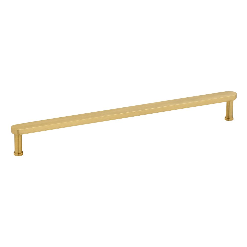 Satin Brass Cabinet Pulls Alno Creations Shop A717 12 Sb Oversized Satin Brass Alno
