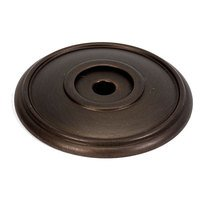 "Alno Inc. Creations - Classic Traditional - Solid Brass 1 5/8"" Rosette in Chocolate Bronze"