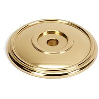 "Alno Inc. Creations - Classic Traditional - Solid Brass 1 5/8"" Rosette in Polished Brass"