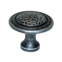 "Alno Inc. Creations - Eclectic - 1 1/2"" Knob in Dark Iron"
