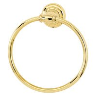 Alno Inc. Creations - Charlie's - Towel Ring in Unlacquered Brass