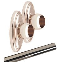 Alno Inc. Creations - Classic Traditional - Shower Rod & Brackets in Polished Chrome