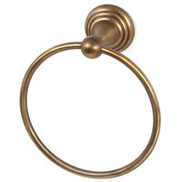 "Alno Inc. Creations - Embassy - 7"" Towel Ring in Antique English Matte"
