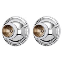 Alno Inc. Creations - Yale - Shower Rod Brackets (priced per pair) in Polished Chrome